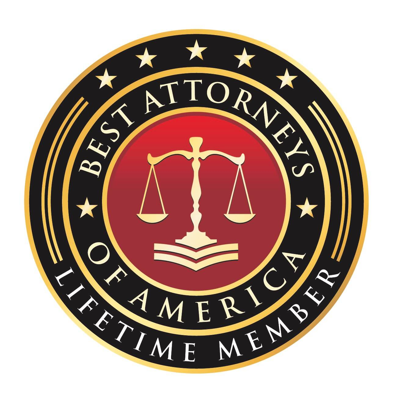 Best Attorneys in America Plaque