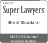 Brent Goudarzi Super Lawyers